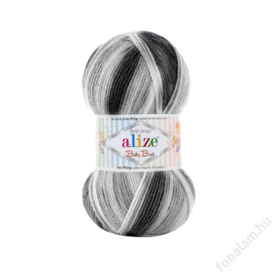Alize Baby Best Batik fonal 7542 Árnyas