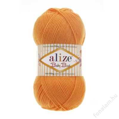 Alize Baby Best fonal 336 Narancs