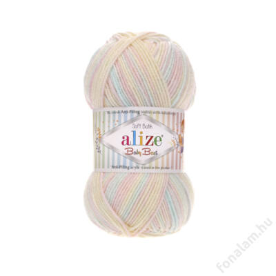 Alize Baby Best Batik fona 6655 Cukorka