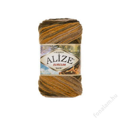 Alize Burcum Batik fonal 5850 Őszi falevél