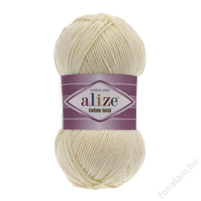 Alize Cotton Gold 01 Krém