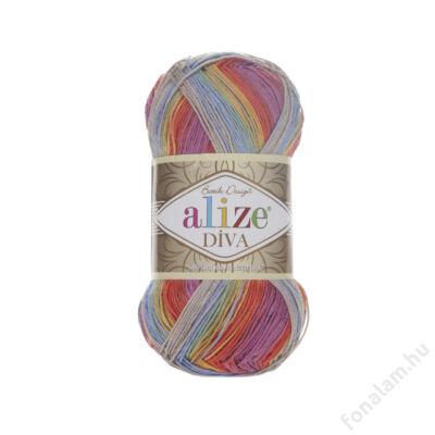 Alize Diva Batik fonal 3242 Jókedv