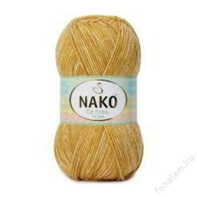 Nako Elit Baby Muare fonal 32154 Mustáros