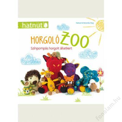 HorgolóZoo-Színpompás horgolt állatkert