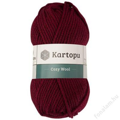 Kartopu_Cozy_Wool_fonal_K110_Bor