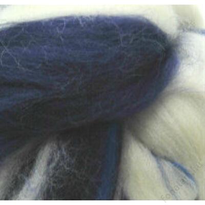 Multicolor ausztrál  merinó  szalaggyapjú 1162 Kékfehérke