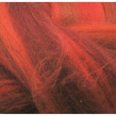 Multicolor ausztrál  merinó  szalaggyapjú 1562 Naripiri