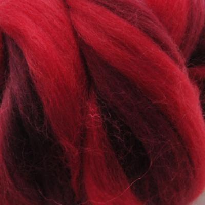 Multicolor ausztrál  merinó  szalaggyapjú 1150 Vörös óriás