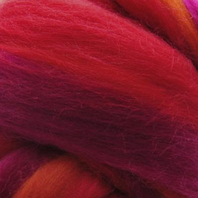 Multicolor ausztrál  merinó  szalaggyapjú 1550 Lávafolyam
