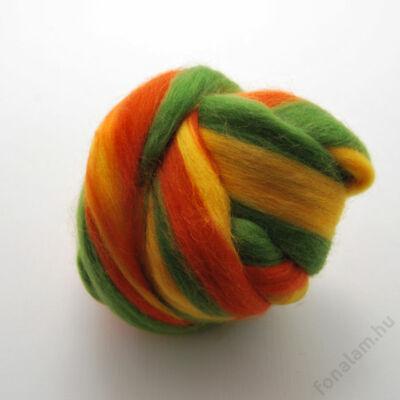 Multicolor ausztrál  merinó  szalaggyapjú 1166 Ede