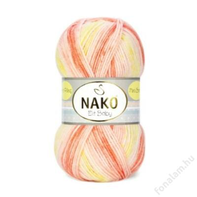 Nako Elit Baby Mini Batik fonal 32430 Kincső