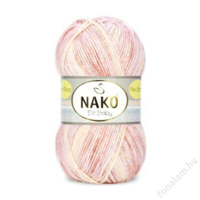 Nako Elit Baby Mini Batik fonal 32458 Nati