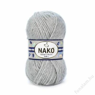 NAKO Mohair Delicate Bulky fonal 195 Szürke melange