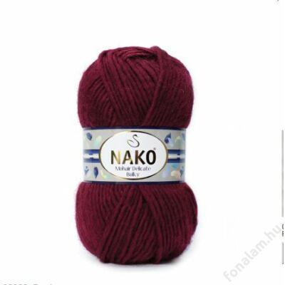 NAKO Mohair Delicate Bulky fonal 999 Vörösbor