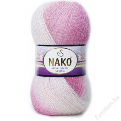 Nako Mohair Delicate Colorflow fonal 28081 Kislány