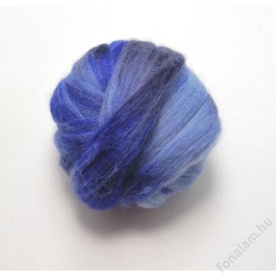 Ombria ausztrál  merinó  szalaggyapjú 06 Kék mámor