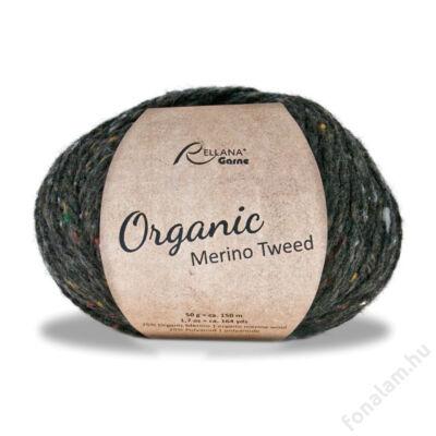 Rellana Organic Merino Tweed fonal 15 Éjszaka