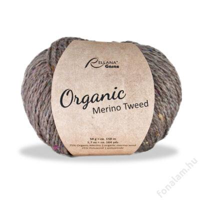 Rellana Organic Merino Tweed fonal 28 Szántóföld