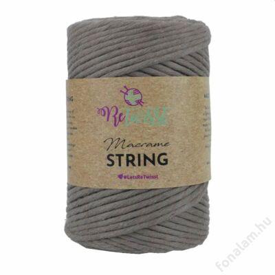Retwisst Macrame String  zsinórfonal 3 mm 09 Ág