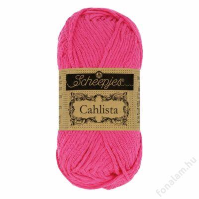 Scheepjes Cahlista fonal 114 Shocking Pink