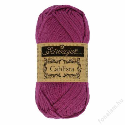 Scheepjes Cahlista fonal 128 Tyrian Purple