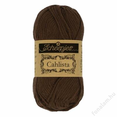 Scheepjes Cahlista fonal 162 Black Coffee