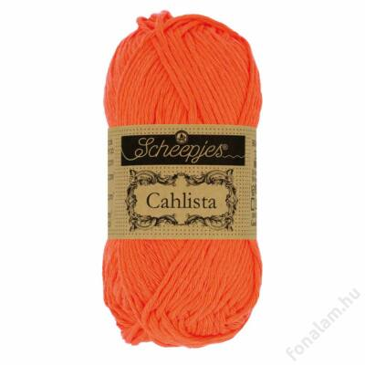 Scheepjes Cahlista fonal 189 Royal Orange