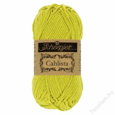 Scheepjes Cahlista fonal 245 Green Yellow