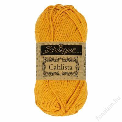 Scheepjes Cahlista fonal 249 Saffron