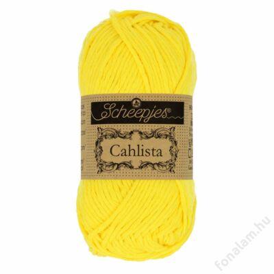 Scheepjes Cahlista fonal 280 Lemon