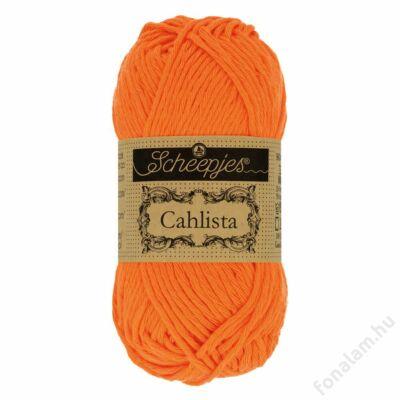 Scheepjes Cahlista fonal 281 Tangerine