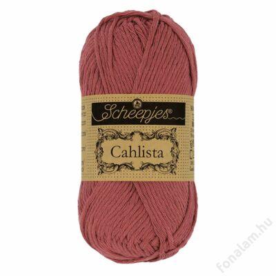 Scheepjes Cahlista fonal 396 Rose Wine