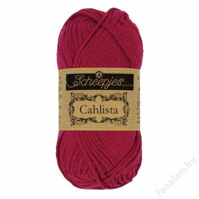 Scheepjes Cahlista fonal 517 Ruby